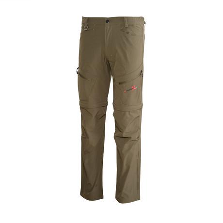 Zip Off Utility Pants // Green (S)