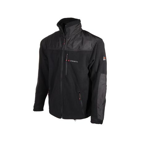 Patchwork Jacket // Black (S)