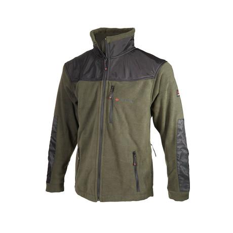 Patchwork Jacket // Green (S)