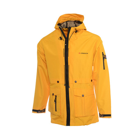 Hooded Explore Parka // Yellow (S)