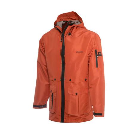 Hooded Explore Parka // Orange (S)
