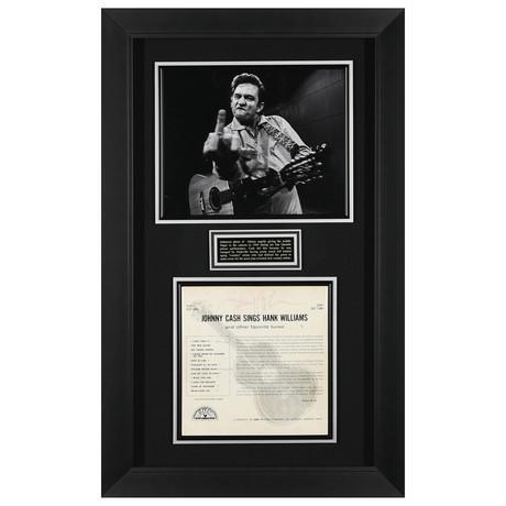 Johnny Cash // Signed