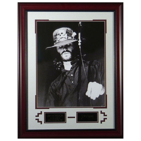 Jim Morrison // Facsimile Signature