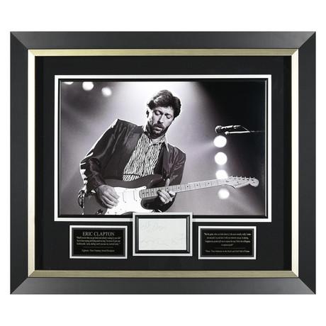 Eric Clapton // Signed