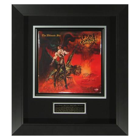 Ozzy Osbourne // The Ultimate Sin // Signed