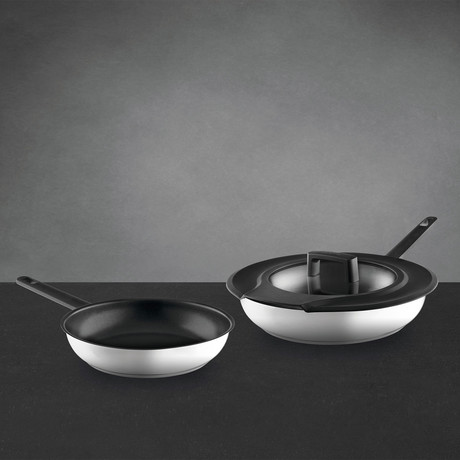 Gem // Fry Pan 3-Piece Set