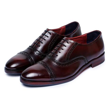 Capote Oxfords // Wine Red (US: 8)