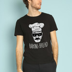Baking Bread T-Shirt // Black (S)