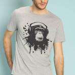 Creative Monkey T-Shirt // Gray (S)