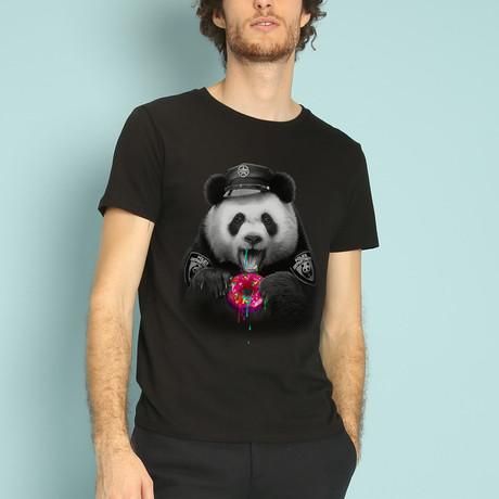 Donutcop T-Shirt // Black (S)