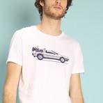 Delorean T-Shirt // White (S)