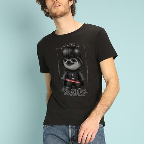 Sloth Wars T-Shirt // Black (S)