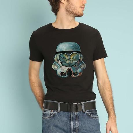 Trooper Cat T-Shirt // Black (S)