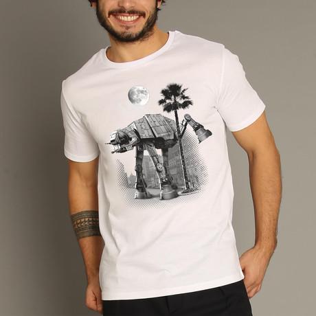Ata Pee Time T-Shirt // White (S)