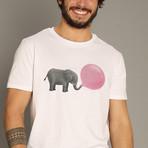 Jumbo Bubble Gum T-Shirt // White (S)