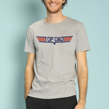 Top Dad T-Shirt // Gray (S)