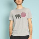 Jumbo Bubble Gum T-Shirt // Gray (S)