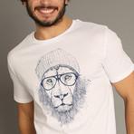 Cool Lion T-Shirt // White (S)