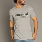 Tomorrow Definition T-Shirt // Gray (S)