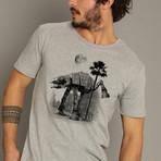 Ata Pee Time T-Shirt // Gray (S)