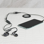 AONIC 5 // Sound Isolating Earphones (Matte Black + Clear)