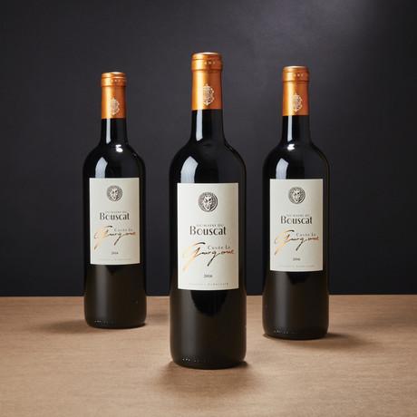 92 Point Domaine du Bouscat La Gargone Bordeaux Superieur // Set of 3