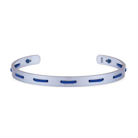 Accent Cuff Bracelet // Blue