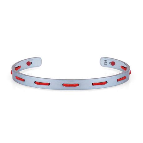 Accent Cuff Bracelet // Red