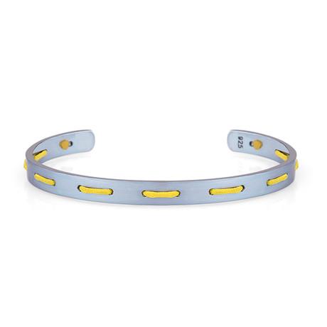 Accent Cuff Bracelet // Yellow