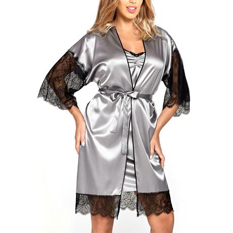 Escora Gown // Silver (2XL)