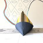 Handloom Cotton Beanbag // Avo Toast + Charcoal