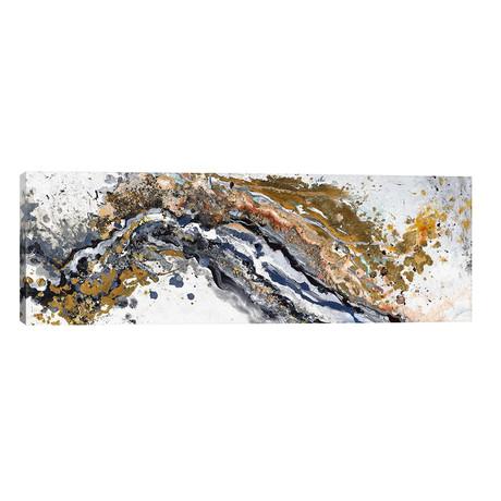 "Turbulence // Patricia Pinto (60""W x 20""H x 0.75""D)"