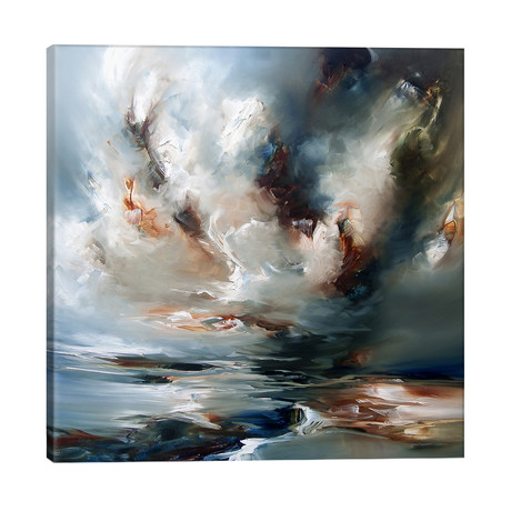 "Heaven's Place // J.A Art (26""W x 26""H x 1.5""D)"