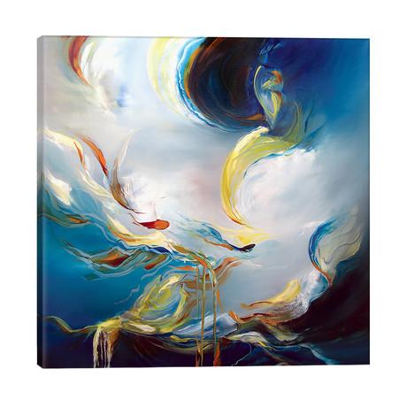 "Water's Movement // J.A Art (26""W x 26""H x 1.5""D)"