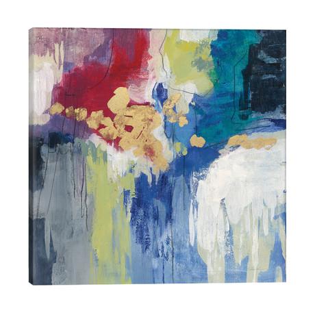 """Sparkle Abstract III // Silvia Vassileva (26""""W x 26""""H x 1.5""""D)"""