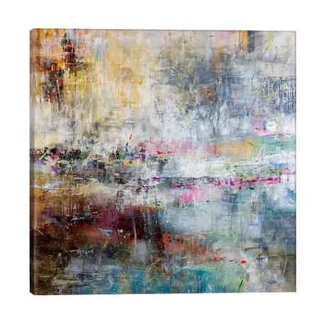 """Summer Rain // Julian Spencer (26""""W x 26""""H x 1.5""""D)"""