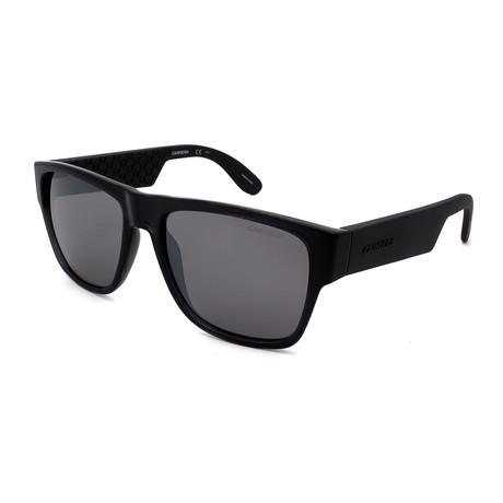 Carrera // Men's 5002-B7V Sunglasses // Shiny Black + Gray