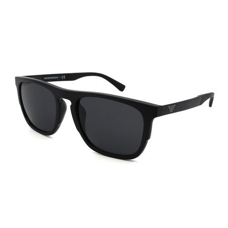 Emporio Armani // Men's EA4114F-501787 Sunglasses // Black + Gray
