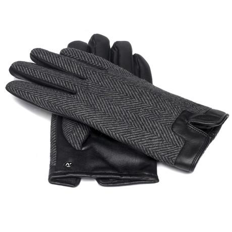 napoTWEED eco // Black + Gray (Small)
