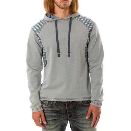 Long Sleeve Hoodie // Gray (S)