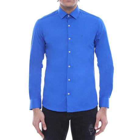 Thomas Slim-Fit Shirt // Blue (S)