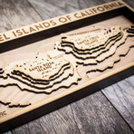 "Channel Islands (5""W x 11""H x 1.5""D)"