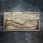 "Santa Barbara (8""W x 15""H x 1.5""D)"