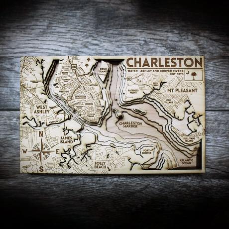 """Charleston (7""""W x 11""""H x 1.5""""D)"""