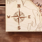 "Folsom Lake (5""W x 10""H x 1.5""D)"