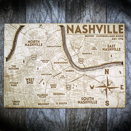 "Nashville (5""W x 7""H x 1.5""D)"