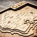 """Oahu (8""""W x 10""""H x 1.5""""D)"""