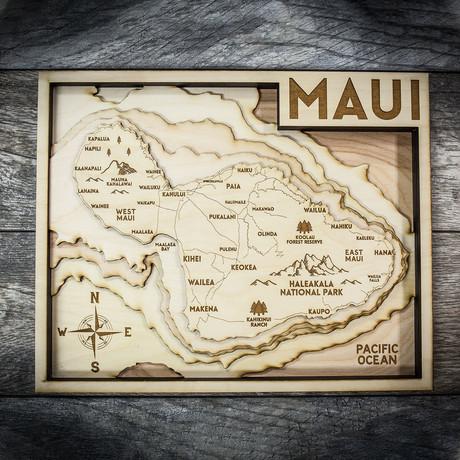 """Maui (8""""W x 10""""H x 1.5""""D)"""