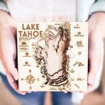 """Lake Tahoe (6""""W x 6""""H x 1.5""""D)"""