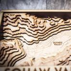 "Squaw Valley (8""W x 13""H x 1.5""D)"